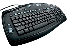 Logitech Media keyboard elite PS/2, USB
